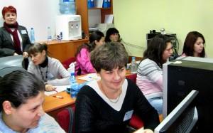 Среща-разговор на директора на ТСБ-Шумен с курсисти по европроект
