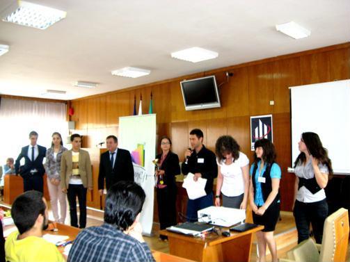 Церемония по награждаване на победителите
