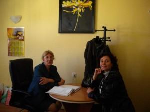 Работна среща в счетоводна кантора