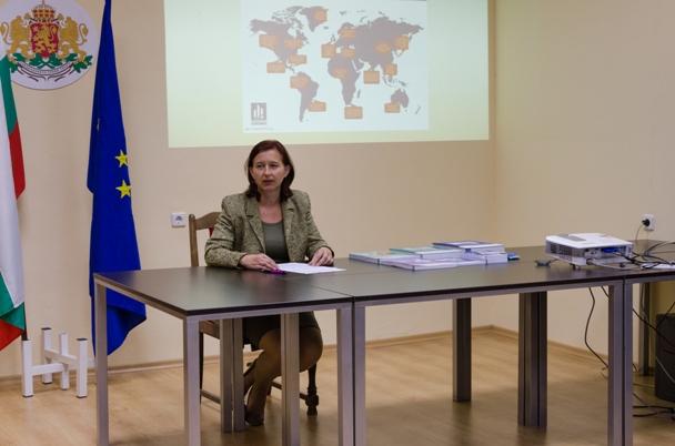 Директорът на ТСБ - Кърджали Мария Желева