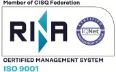 ISO 9001:2018 certificate