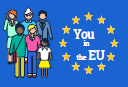 You in the EU logo